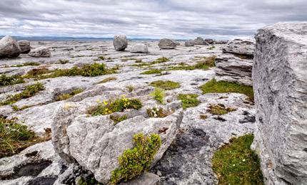 Landscape of the Burren County Clare