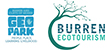 Burren Geopark and Burren Ecotourism Network logos