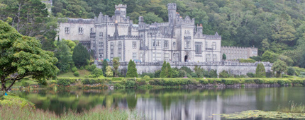 Kylemore-Abbey and Walled Gardens County Galway