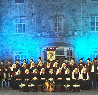 Choir Singing at The Belfast Tattoo