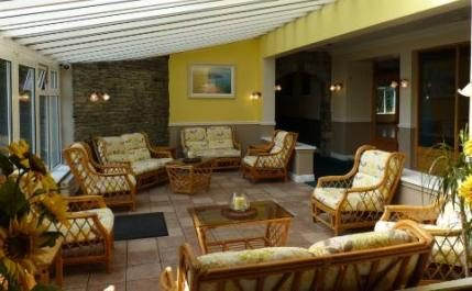 Lobby of Burren Castle Hotel