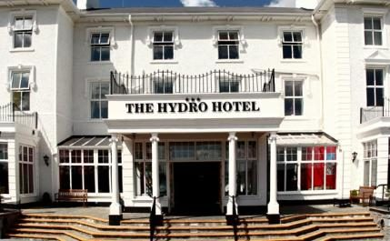 Entrance to Hydro Hotel
