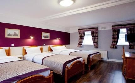 Bedroom at the Hydro Hotel