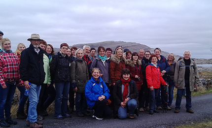 Group at Mullaghmore
